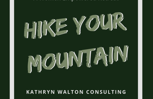 Hike Your Mountain, a women empowered retreat by Kathryn Walton Consulting and Emma Walton Guiding. Emma Walton Guiding is a nature guide of South East Queensland. Hike Your Mountain is a retreat equipping you to hike solo. Challenge yourself.